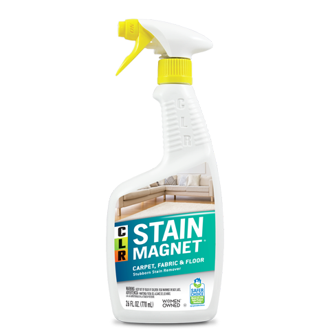CLR® Stain Magnet Carpet Fabric and Floor Cleaner package