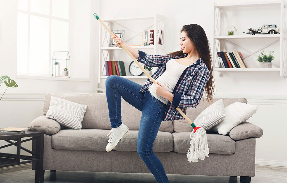 Survey Shows Impact That Music Has On Cleaning