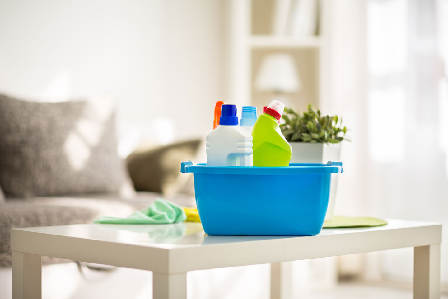 7 Quick and Easy Tips for INDOOR spring cleaning